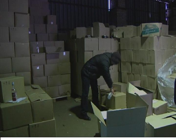 120 тысяч бутылок водки с признаками контрафактности изъяты в Сыктывкаре